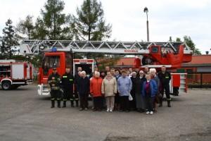 Spotkanie z dzielnymi pszczyńskimi strażakami