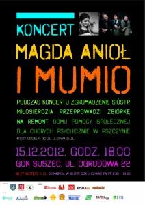Zapraszamy na koncert Magdy Anioł i Mumio