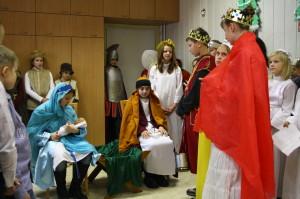 Noworoczne odwiedziny dzieci i młodzieży u Mieszkańców