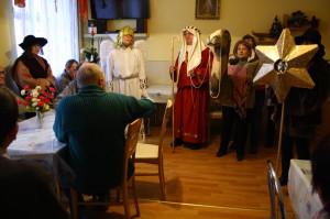 Kolędowe odwiedziny Rodziny Franciszkańskiej