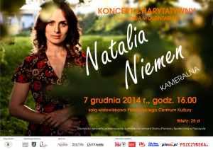 Natalia Niemen zaśpiewa dla Nas….