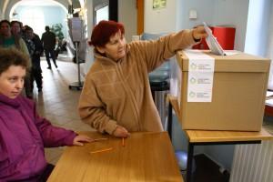 Głosowanie w Ratuszu