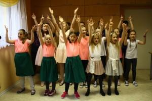Występ dzieci z Jankowic